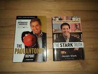 2 Books Espn Overrated Underrated Players Baseball Stark & Football Paolantonio