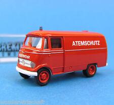 Brekina H0 MB L 318 Atemschutz Feuerwehr Mercedes OVP HO 1:87 Box