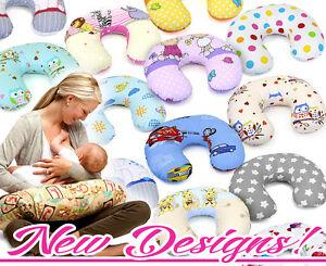 Fuetterung-Kissen-Brust-Stillen-Schwangerschaft-Baby-Abnehmbar-Baumwolle-Bezug