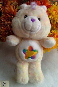 TRUE-HEART-Care-Bear-12-034-Carlton-Cards-2002-Toy-20th-Anniversary-Star-Heart-4