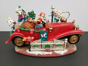 Grandeur-Noel-Animated-Christmas-Roadster-Collector-039-s-Edition-In-Box