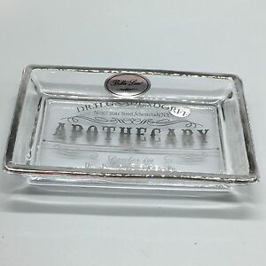 Bella Lux Apothecary Glass Soap Dish Dr H Gnadendorff