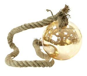 Hanging-Decorative-Light-Ball-On-Rope-With-LED-String-Lights-Neutral-Colours