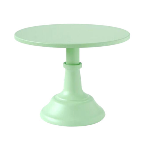 Cake Stand Round Metal Display Pedestal Plate Tower for Wedding Party Event