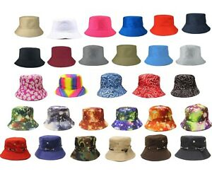 Summer Fishing Fisher Beach Festival Sun Cap Hot 100/% Cotton Adults Bucket Hat