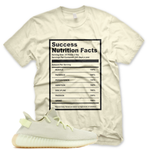 on sale 25a09 92699 Details about New SUCCESS FACTS T Shirt for Adidas Yeezy 350 V2 BUTTER GUM