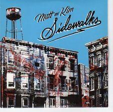 (EA741) Matt & Kim, Sidewalks - 2011 DJ CD
