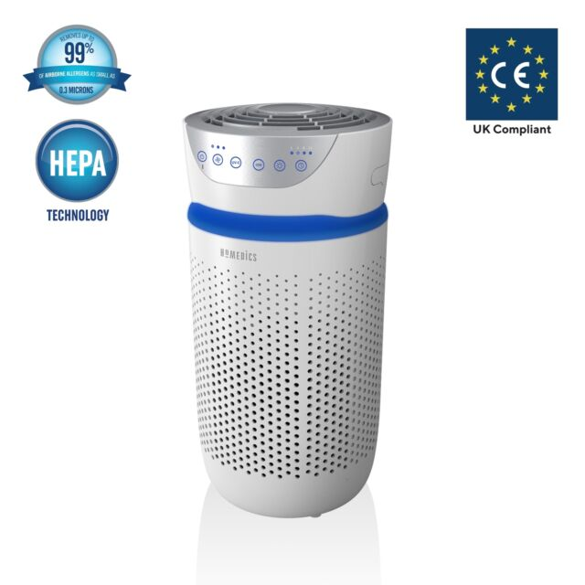 HoMedics Air Purifier – HEPA/Carbon Filter, Perfect for Allergy Sufferers - NEW