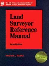 Land Surveyor Reference Manual [Engineering Review Manual Series] , Hardcover ,