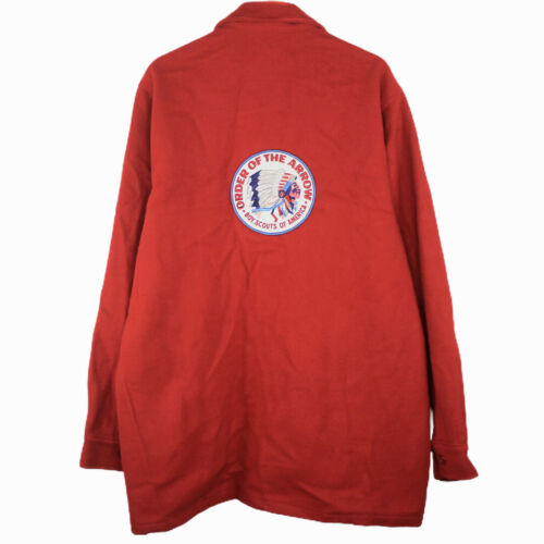 F32 Vintage Boy Scout of America Official Red Wool
