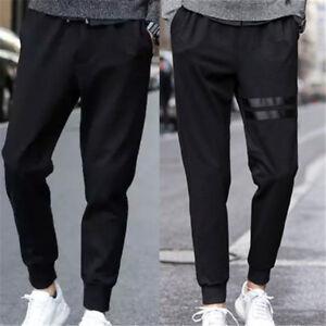 Men Long Casual Sports Pants Gym Slim Fit Trousers Dance Jogger Gym Sweatpants.