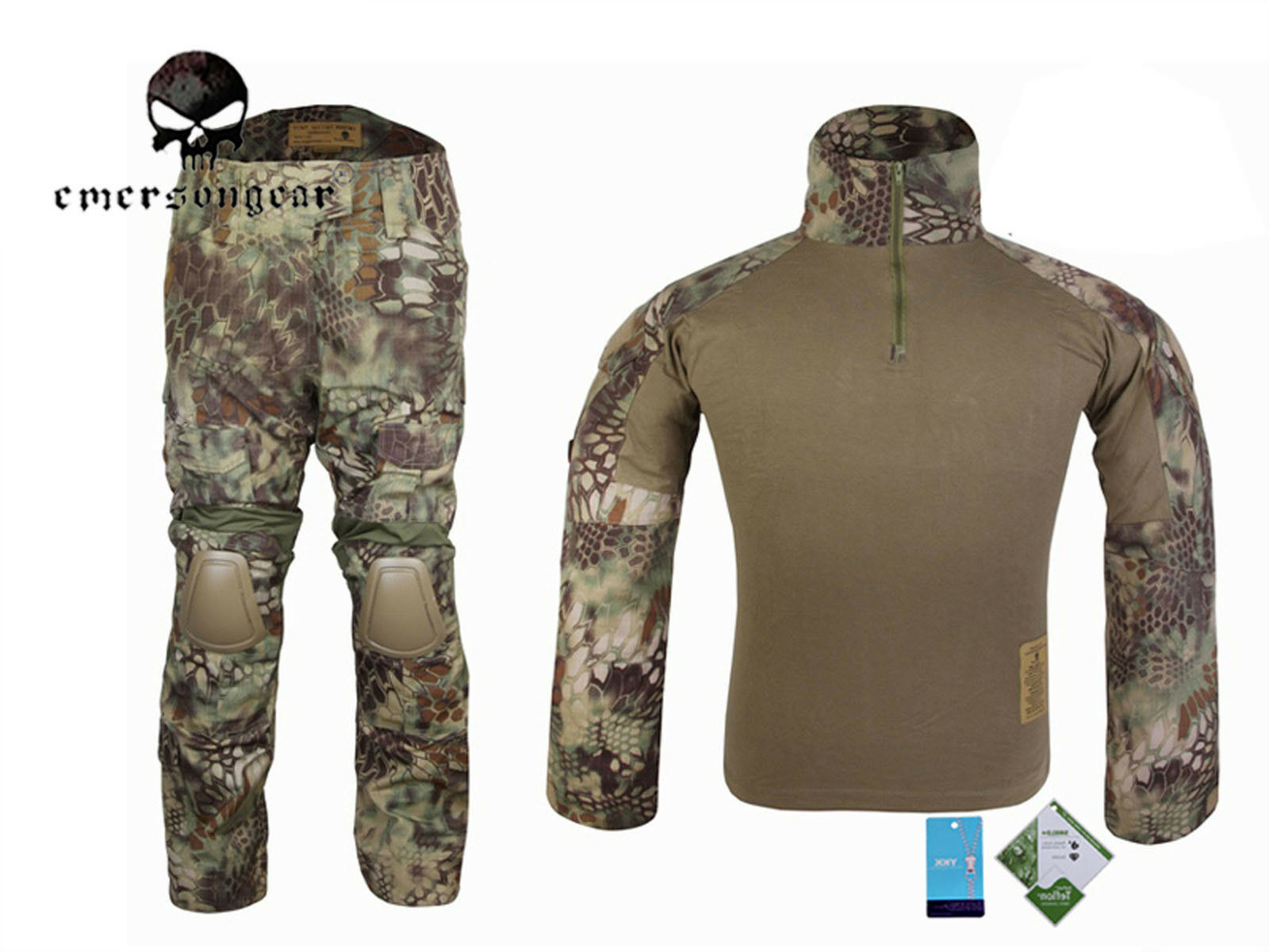 EMERSON Gen2 Cype Style Combat Uniform Tactical Hunting Uniform BDU  Mandrake  shop clearance