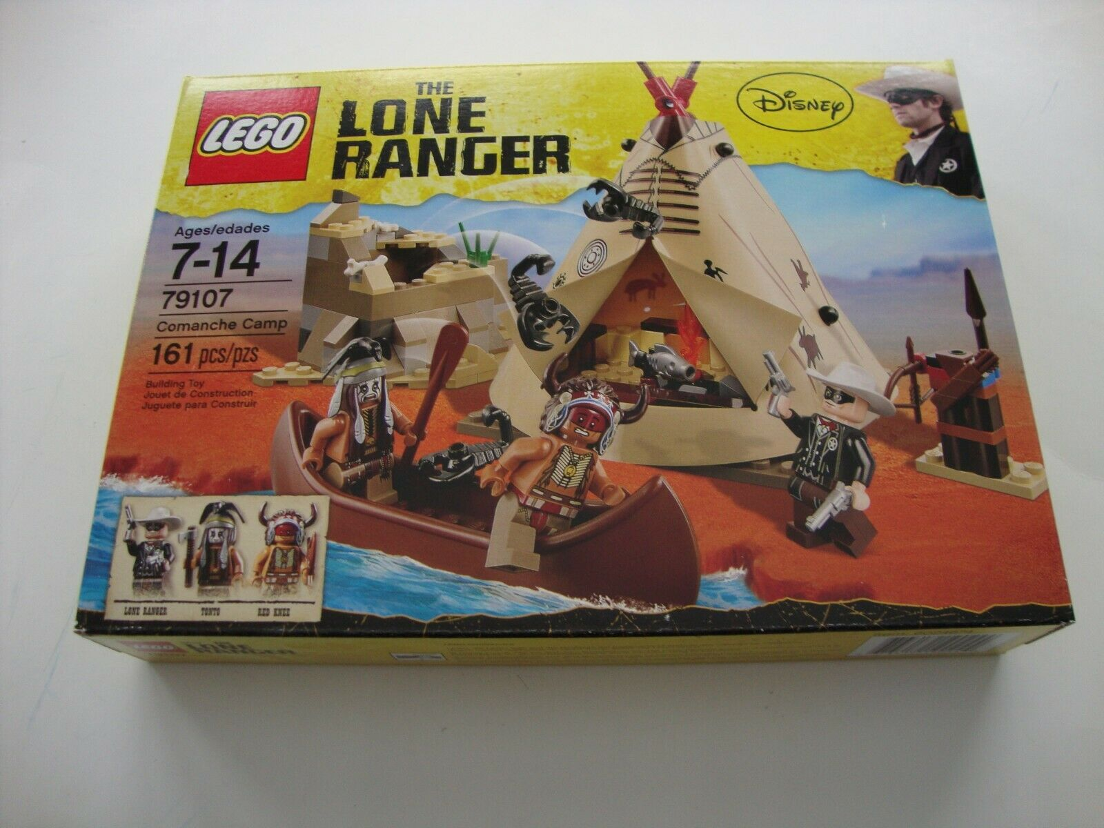 LEGO The Lone Ranger 79107 Comanche Camp Tonto Red Knee Lone Ranger - NEW