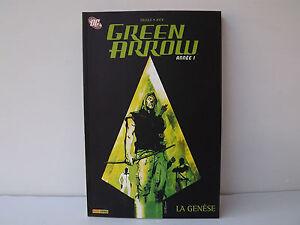 Green-Arrow-Annee-1-La-Genese-Diggle-Jock-Panini-Comics-Dc-Comics