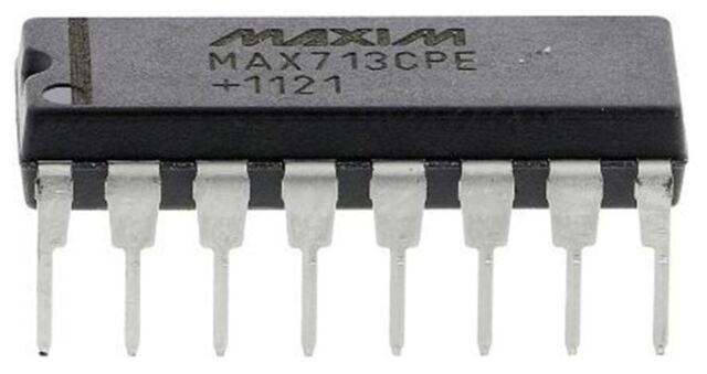 Maxim MAX713CPE+ Nichel-Cadmio, Nimh, Batteria Regolatore di Carica 16-Pin, Pdip