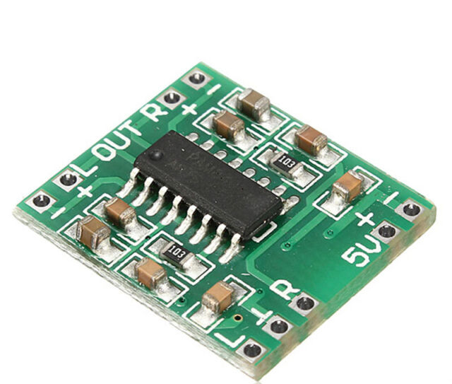 2015 Digital DC 5V Amplifier Board Class D 2*3W USB PAM8403 Audio Module NICA
