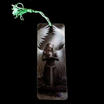 *PRAYER FOR THE FALLEN* Goth Angel Art 3D Bookmark By Anne Stokes (15.5x5.5cm)