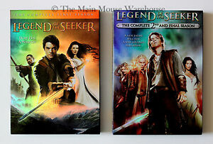 Legend-of-the-Seeker-First-amp-Second-Seasons-Complete-Mythology-TV-Series-on-DVD