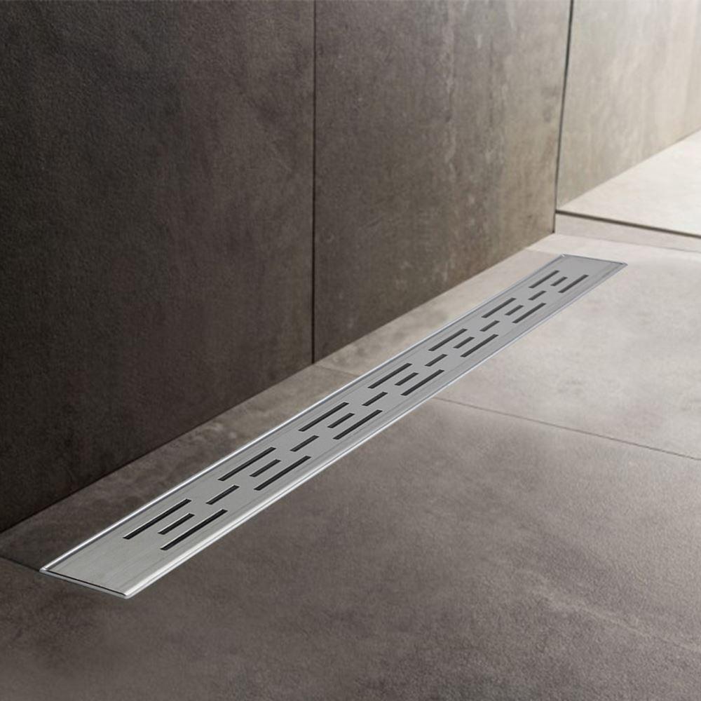 600mm a 1500mm acciaio inox canale di scarico umidi doccia Trappola Bacino di drenaggio ( 1)