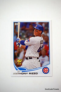 Anthony Rizzo 2013 Topps Rookie Cup Card #44, Chicago Cubs