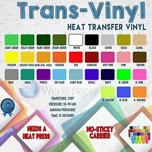 t shirt htv vinyl for garment clothing heat press transfer sold 20
