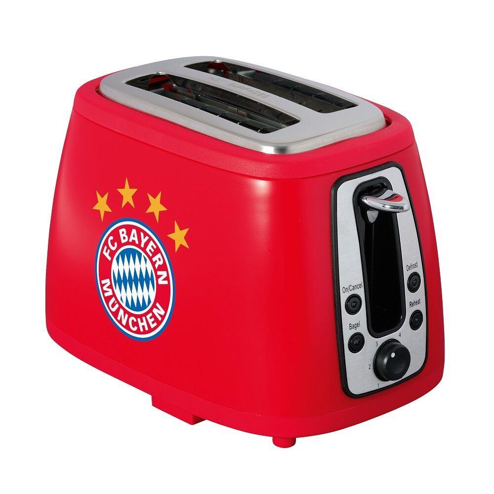 FCB FCB FCB Fanartikel Sound-Toaster rot Logo fürs Frühstück vom FC Bayern München 18875 383662