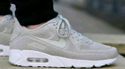 NEW NIKE AIR MAX 90 Ultra 2.0 BR Breathe Pale Gray White 898010 002 Men's SZ 7.5 | eBay
