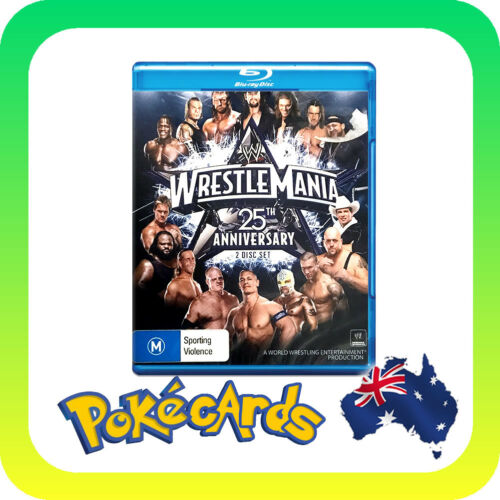 1 of 1 - WWE - Wrestle Mania 25 (Blu-ray, 2009, 3-Disc Set)