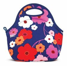 BUILT NY Gourmet Getaway LUNCH TOTE Bag Insulated + Zip NEOPRENE - LUSH FLOWERS
