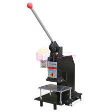 New 220v Manual Hot Foil Stamping Machine Tipper Bronzing Letterpress Printer