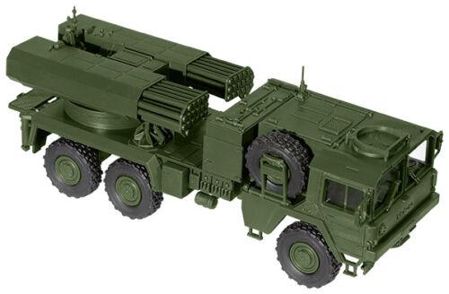 05057 Roco Minitank H0 Bausatz MAN LKW mit Raketen System LARS 2 BW 1:87