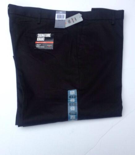 DOCKERS Uomo Dritti Fit Piatto Frontale Pantaloni Cachi firma AUTENTICA etichette
