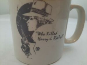 RARE who killed henry j ripley dinner theater 1992 coffee cup mug Collectible