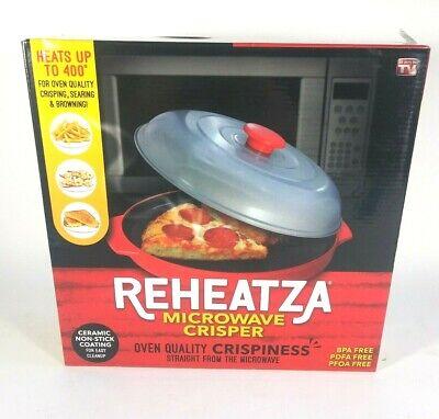 Allstar Innovations As Seen on TV Microwave Crisper Reheatza Brand New
