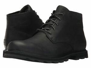 Sorel-Madson-Chukka-Waterproof-Black-Men-039-s-Boot-Shoes