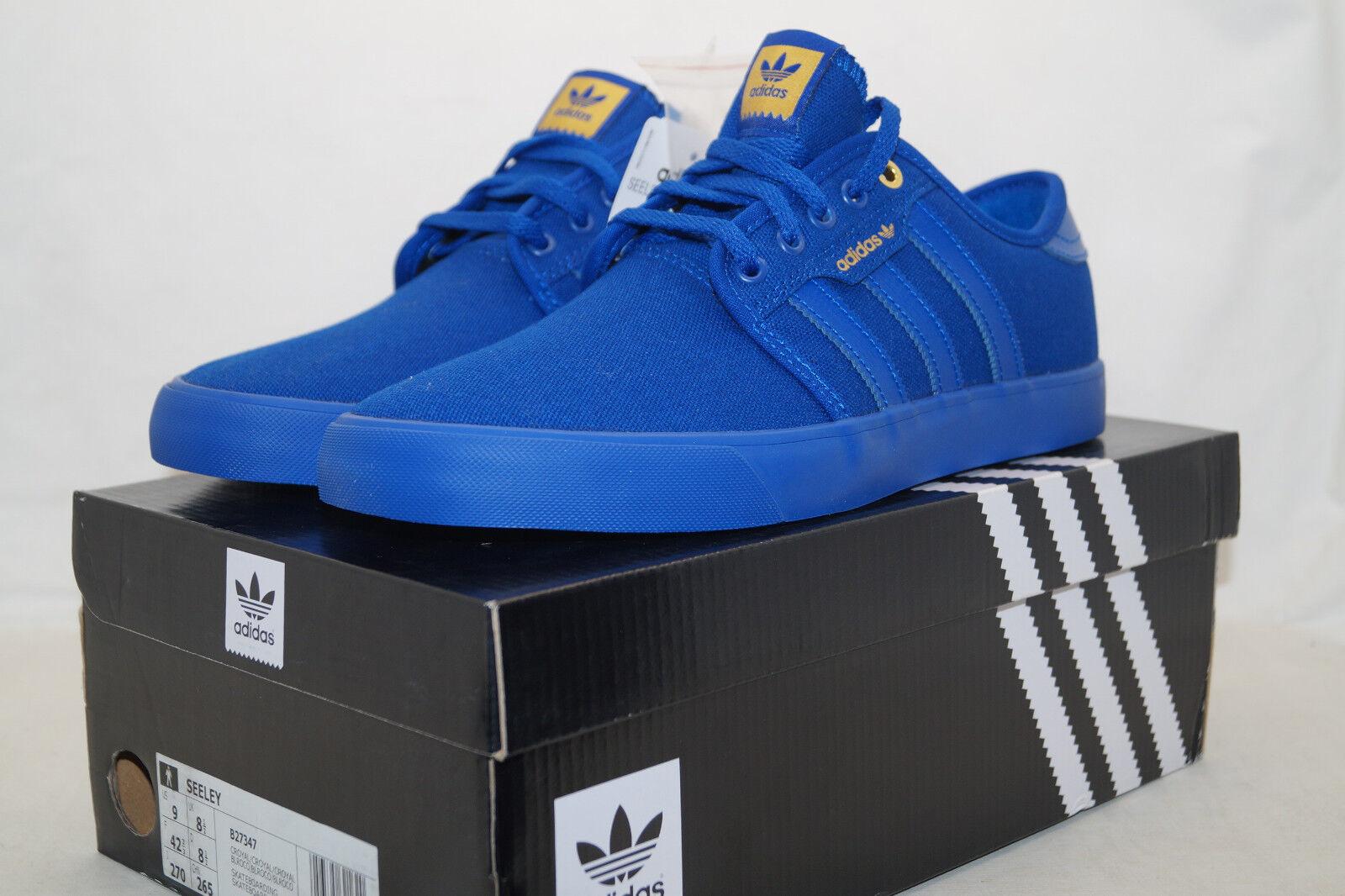 Adidas Originals Seeley Azul skateboarding UE 42.6 All Azul Seeley azul b27347 7a607e