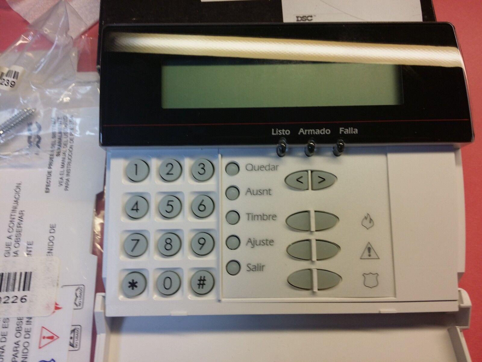 Dsc LCD5500SP alarma de idioma español teclado de potencia serie raro y  nuevo