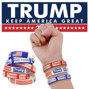 WR-6PCS-Trump-Election-Slogan-Bracelets-Keep-America-Great-2020-Wristband-Gift