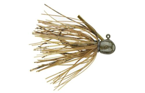 1//16oz. LOT OF 6 JIGS-Ike's Micro Jig by Missile Jigs-Tiny Jig For Bass Fishing