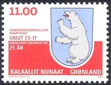 Greenland 2004 Polar Bear/Home Rule 25th Anniv/Coat-of-Arms/Animals 1v (n11889)