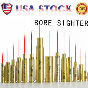 US-Red-Dot-Laser-Brass-Boresight-CAL-Cartridge-Bore-Sighter