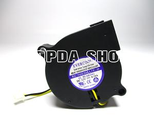 EverCool EC5015H12E-B DC12V 0.18A 2wire 2pin 5015 50X50X15MM Cooling Fan