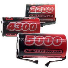 1.2V NiMH SubC (SC) Single Cells 2200-5000mAh for DIY custom battery packs