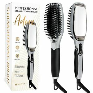 Details about AsaVea Hair Straightener Brush 3.0: MCH Heating Technology and Auto Temperature