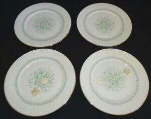 Lenox-Oxford-USA-Meadowlark-4-Salad-Plates-8-1-4-034-Bone-China