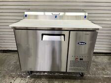 New 1 Door 44 Refrigerated Pizza Prep Table Cooler 115v Nsf Atosa Mpf8201 6440