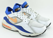 check out ed0aa 1f058 item 2 MENS NIKE AIR MAX 93 CITRUS RUNNING SHOES SIZE 10.5 WHITE BLUE  YELLOW 306551 100 -MENS NIKE AIR MAX 93 CITRUS RUNNING SHOES SIZE 10.5 WHITE  BLUE ...