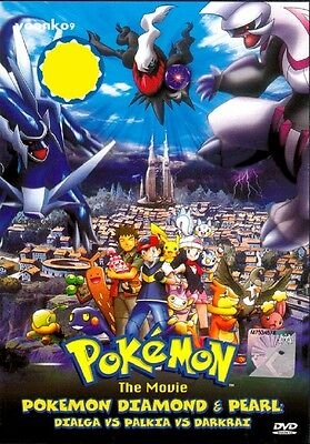 Pokemon Movie 10 The Rise Of Darkrai Dvd Anime English Subtitle Region All 9555186384563 Ebay