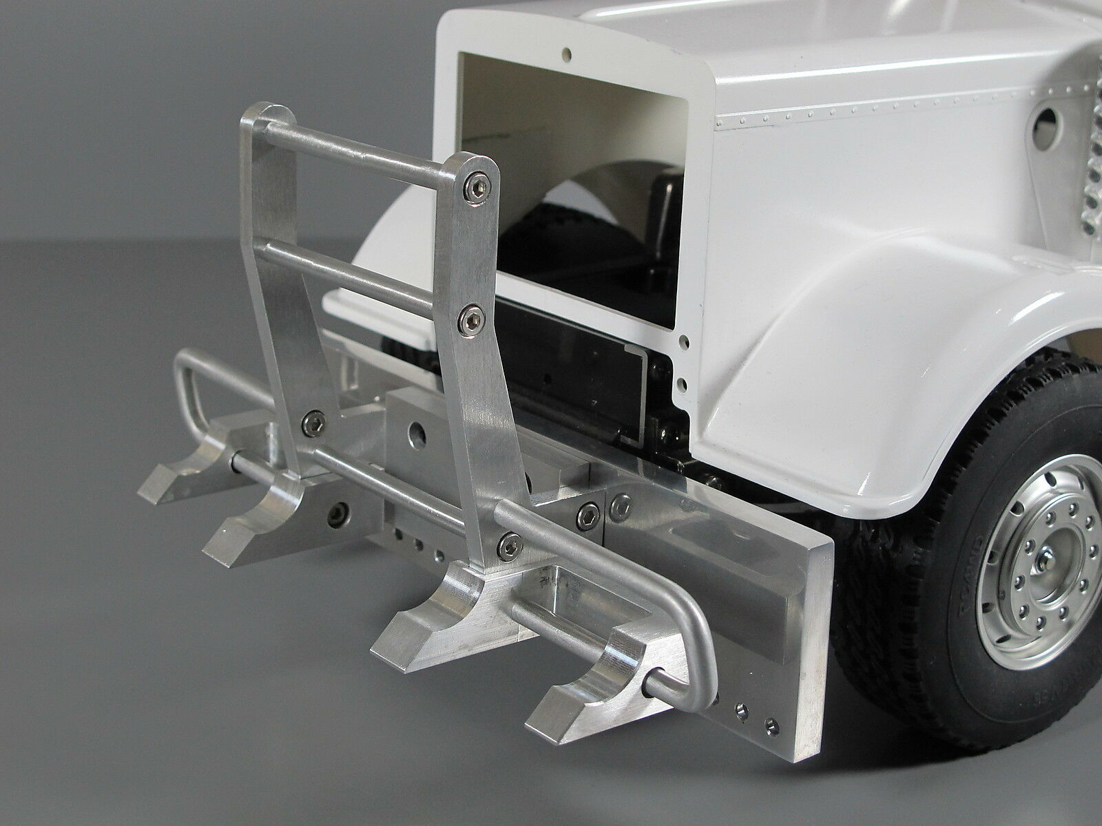 Aluminum Hook Style Guard + Bumper for Tamiya  R C 1 14 Knight re Gre Hauler  i nuovi marchi outlet online