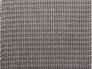 Marshall-Noir-gris-EC-FRETTES-tisse-tissu-Grille-81x45cm